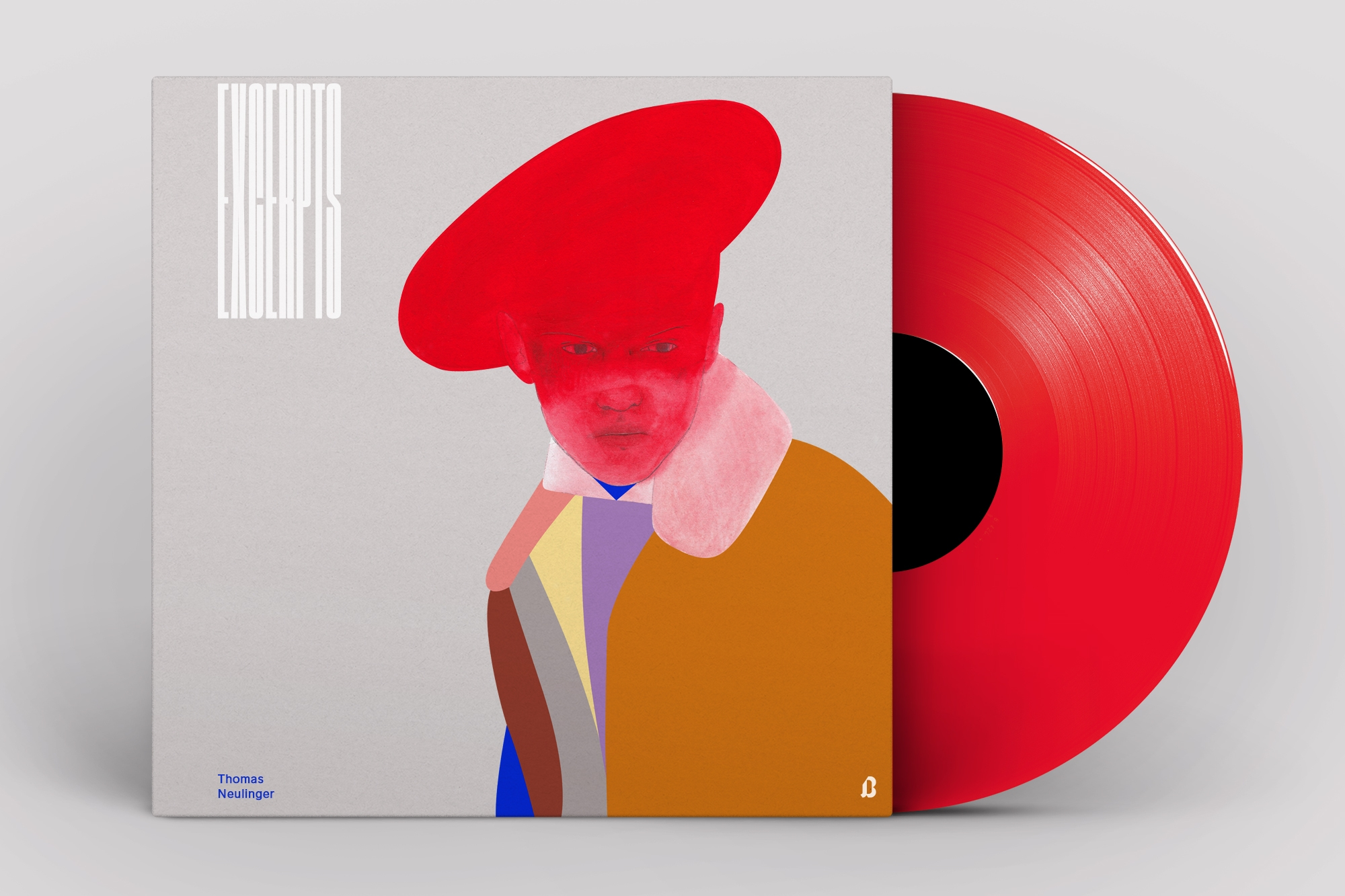 Excerpts – record cover design  - janbrauer | ello