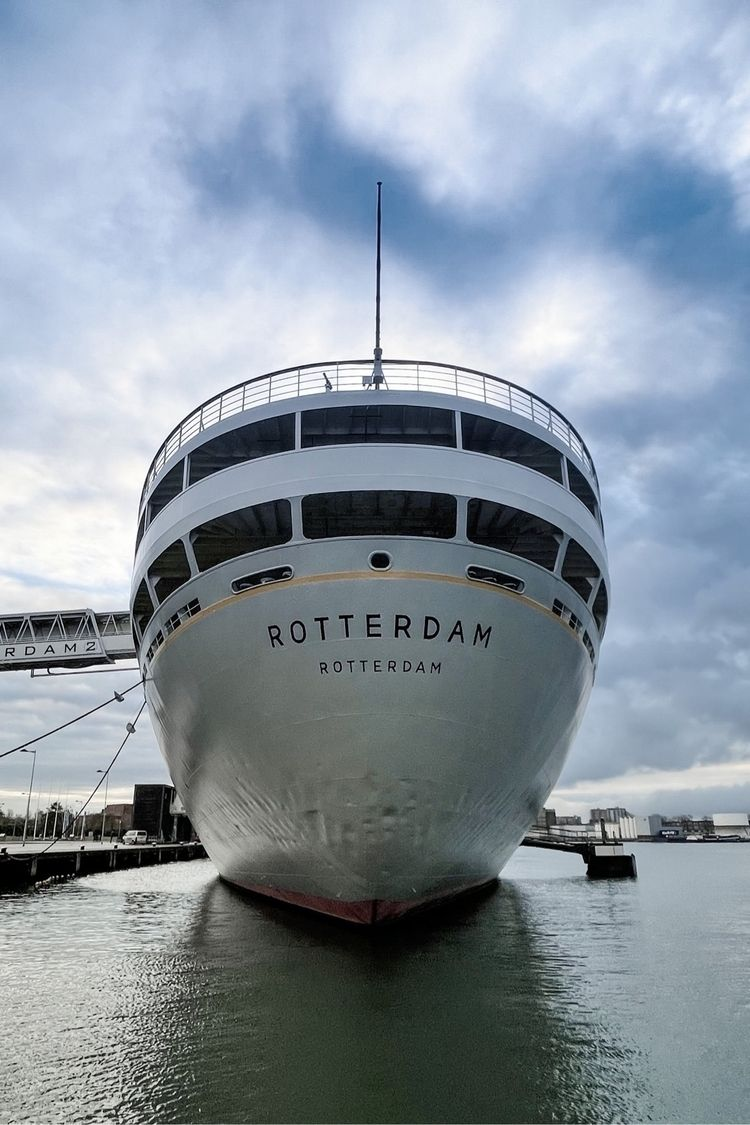 """Big harbours bring big boats - ssrotterdam - idee 