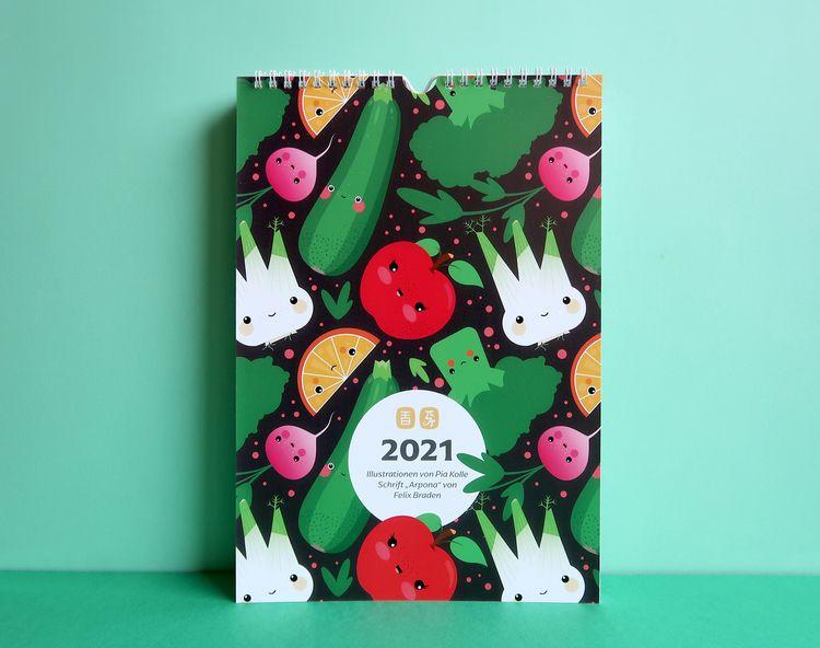 Calendar 2021 – Pattern design  - piakolle | ello