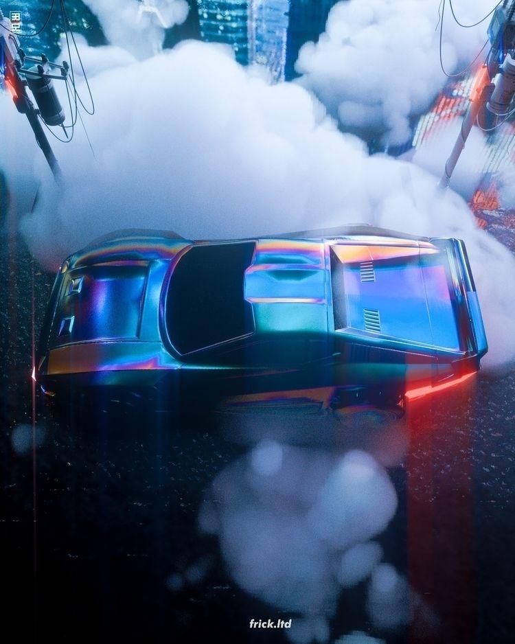 Neon Fever - cinema4d, cyberpunkart - frickltd | ello