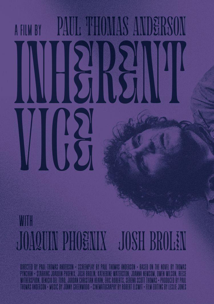 Film poster Inherent Vice (USA - sarahschrauwen | ello