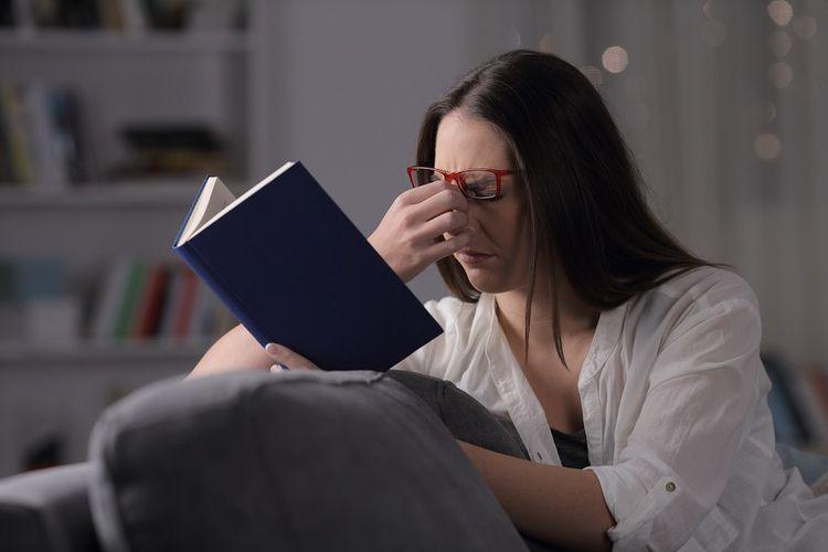 Loss reading vision medically p - optimalvision | ello