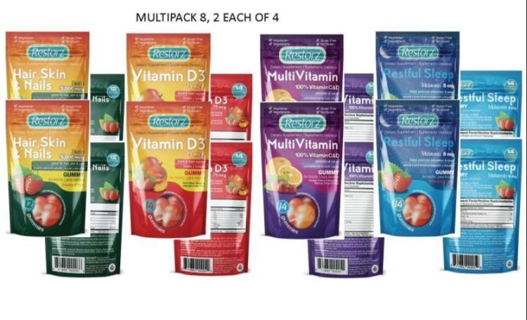 RESTORZ Adult multi vitamin var - healthrightproducts | ello