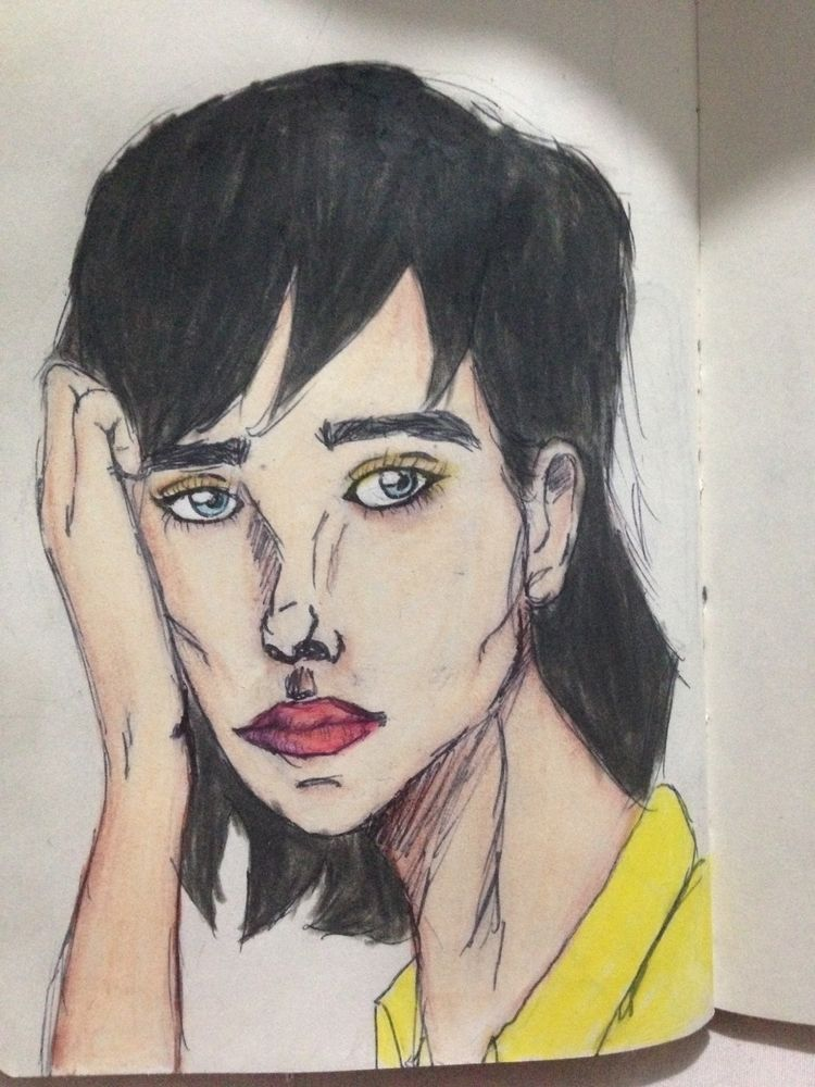 sketchbook, sketch, outline, draft - dantasadriano_ | ello