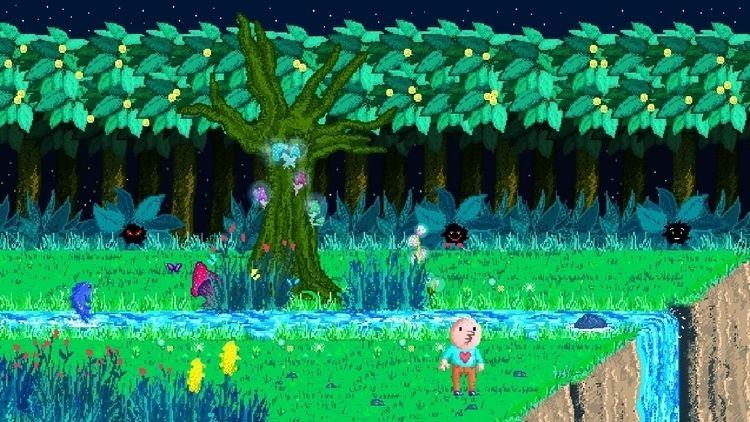 Enchanted Forest - pixelart - zvanit | ello