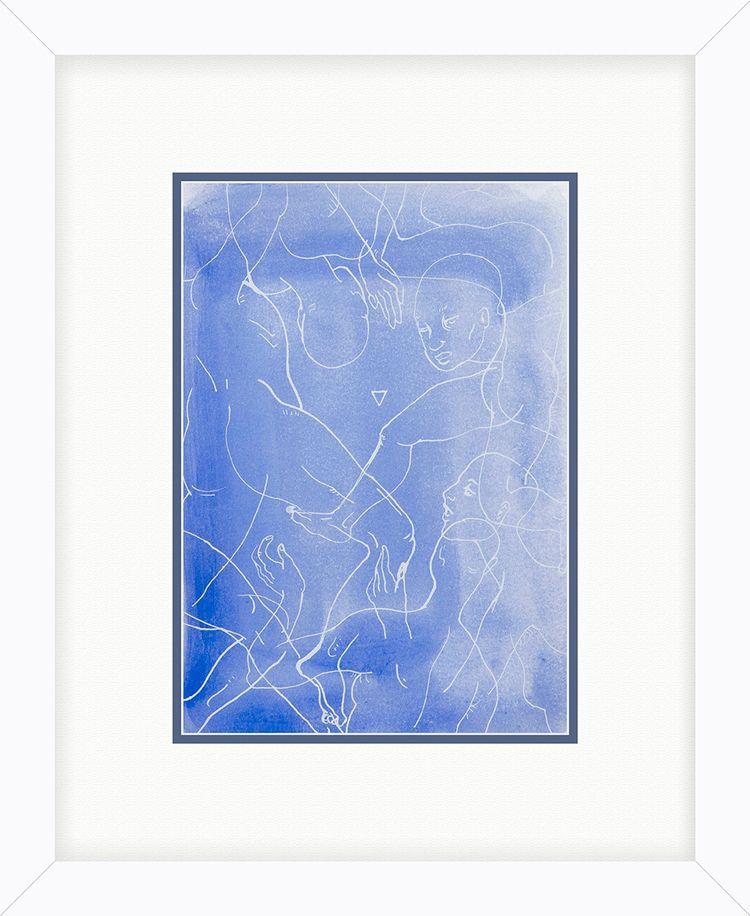 Floaters (2018) Watercolour ink - yqin_art | ello