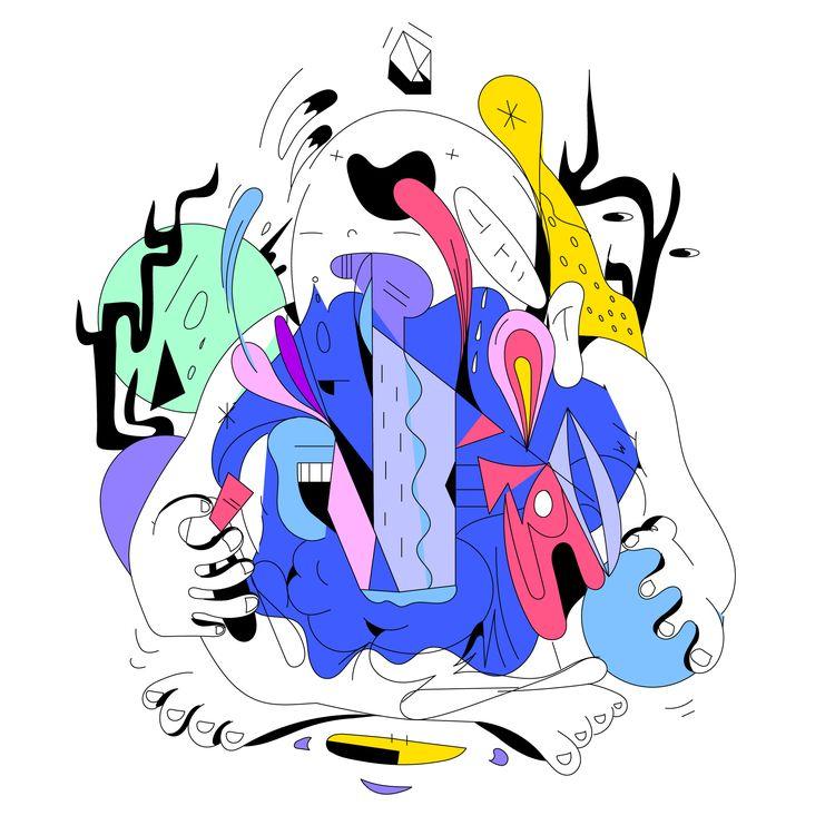 'Conjuror - illustration,, art, - jbartell32   ello
