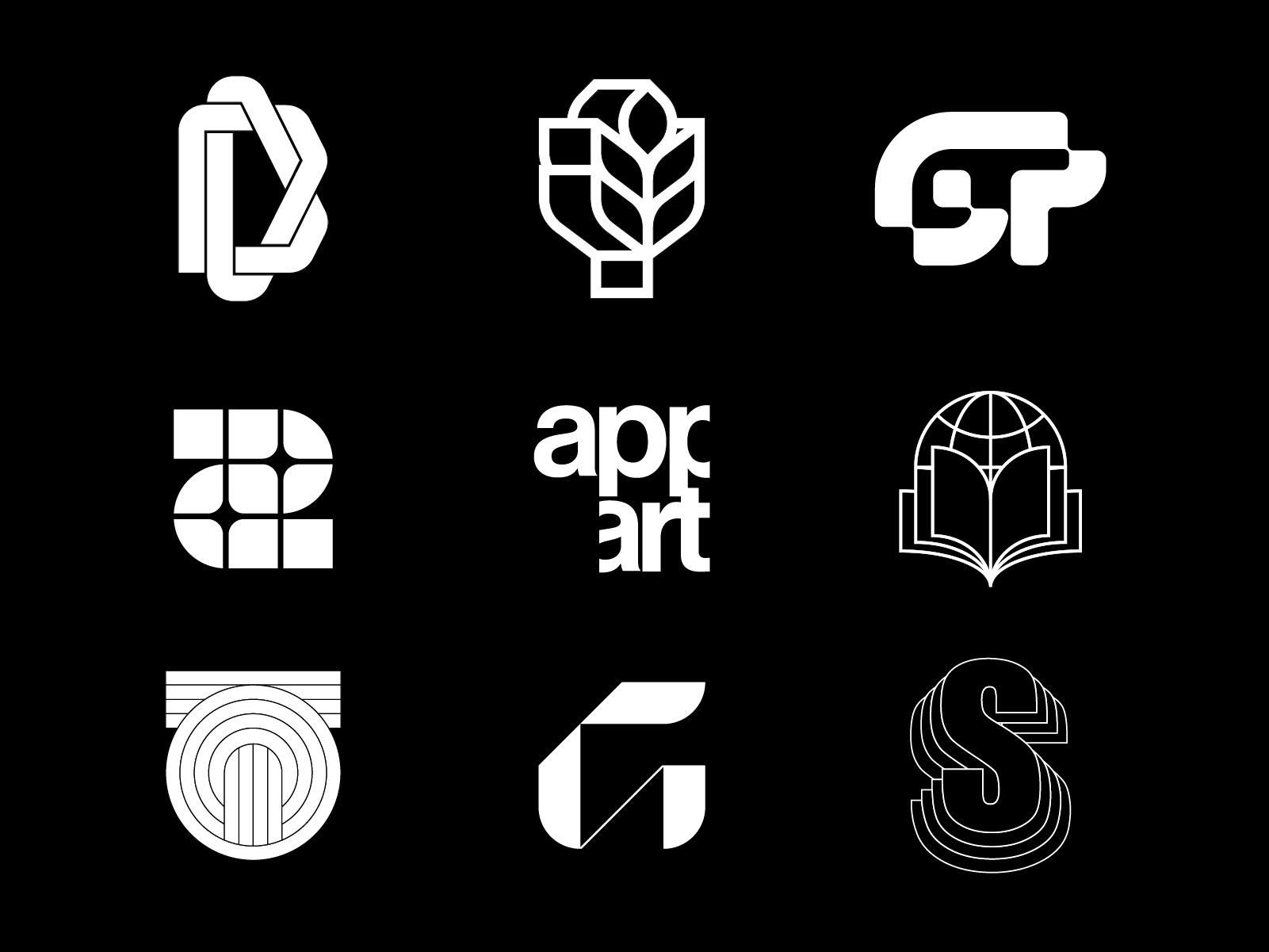day year show 9 logos. number l - antoniocalvino | ello