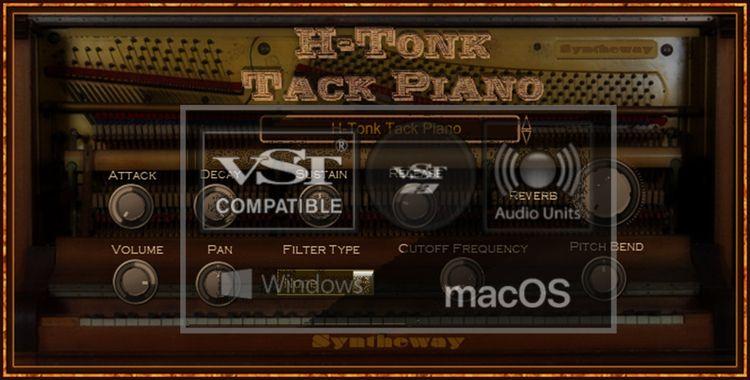 Tack Piano VST VST3 Audio Unit - syntheway   ello