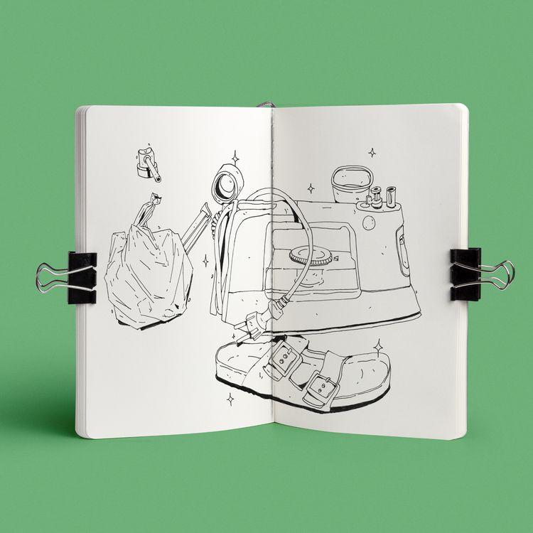 sketchbook pt II - sidas_ate | ello