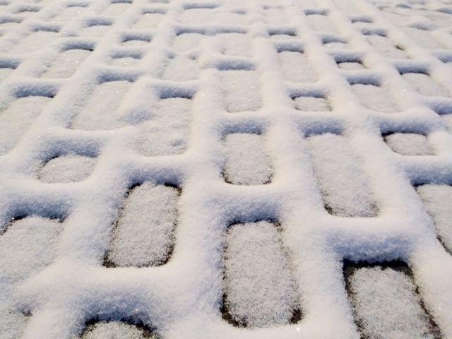 Снежная вафля - winter, snow, white - igenvoicov | ello