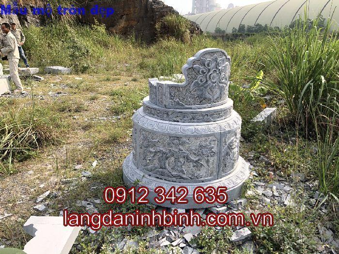 Mẫu mộ tròn đẹp bằng đá kích th - langdaninhbinh635 | ello