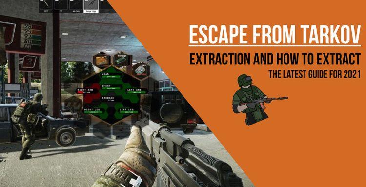 Escape Tarkov: Extraction extra - numbssyun   ello