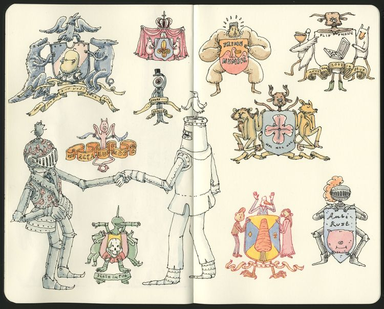 Heraldic intermission - mattiasadolfsson | ello