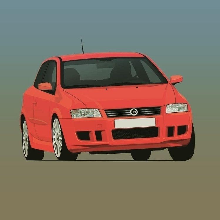 Italian hot Hatch Fiat Stilo Ab - kaimetsavainio | ello