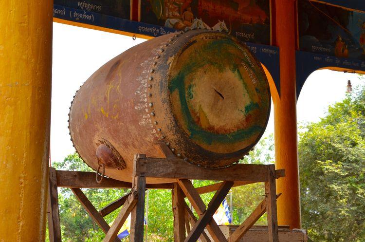 Temple Drum, Cambodia - jonpublic | ello