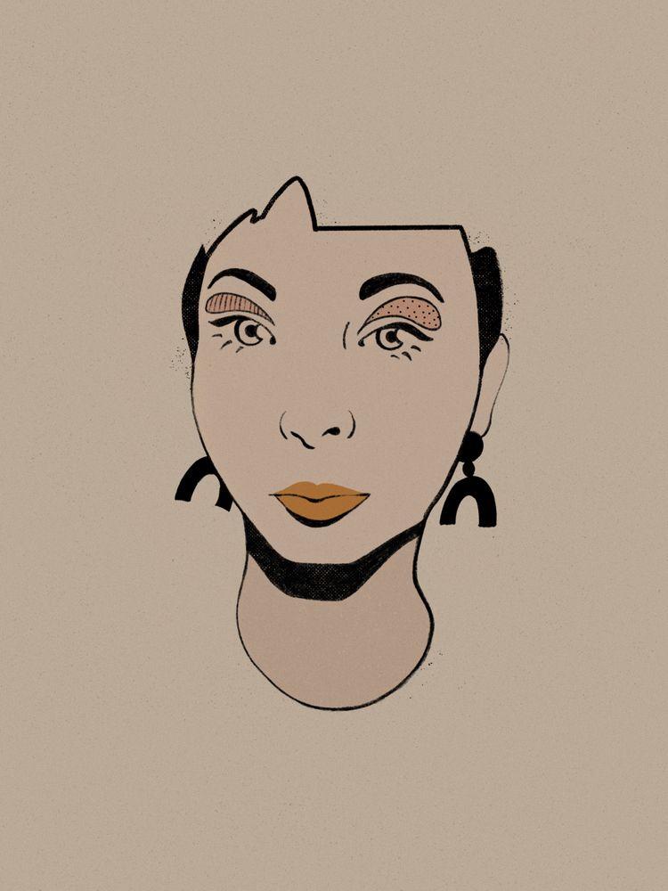 Portrait artist Jillian Evelyn  - heyambermorgan | ello