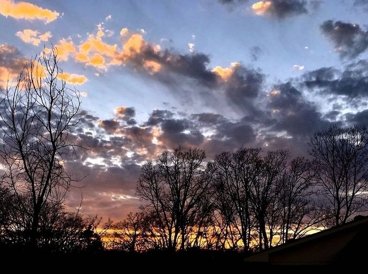 iPhone photo, sunset rainy day - tailspin711 | ello