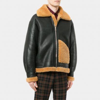 Black leather jacket wool Price - mrstyless   ello