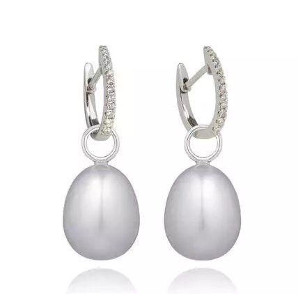 Buy Gold Diamond Earrings Onlin - jewellerycurated | ello