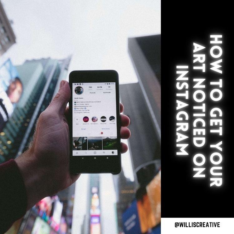 artist matter trade Instagram.  - williscreative | ello