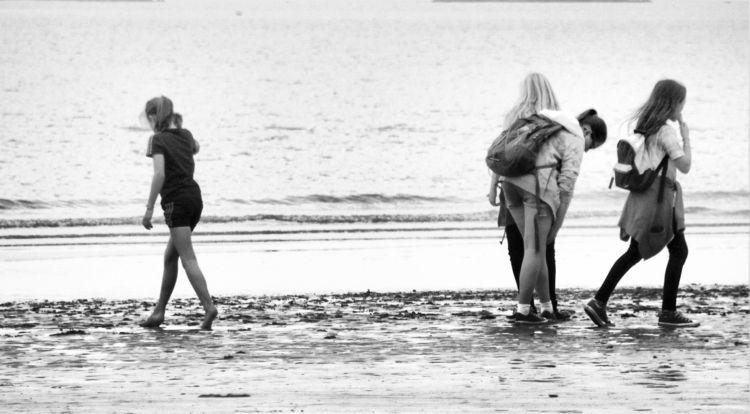 ocean sadness began - blackandwhite - cornelgin | ello