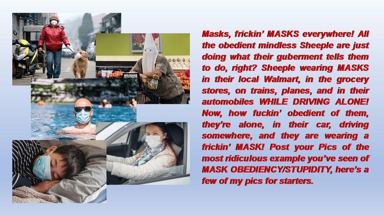 Masks, frickin' MASKS - drtcsaxedd | ello