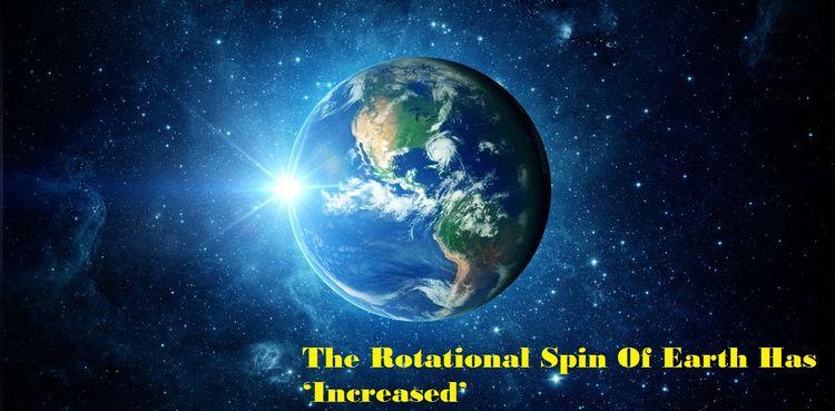 Rotational Spin Earth 'Increase - oliverjackuk55   ello