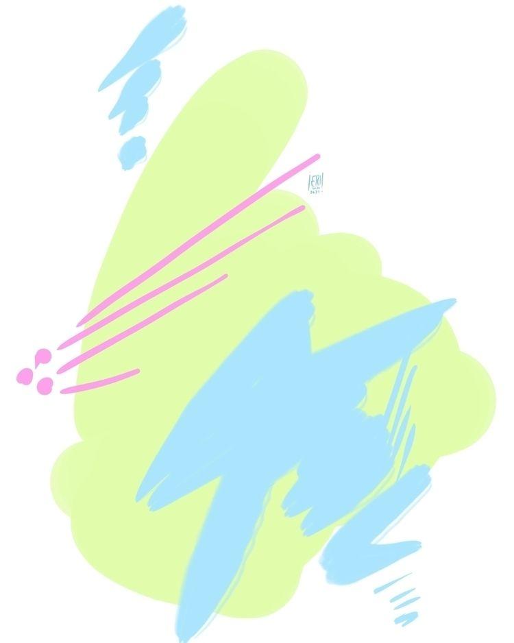 Abstract 2 - elloart, elloabstract - erisado   ello