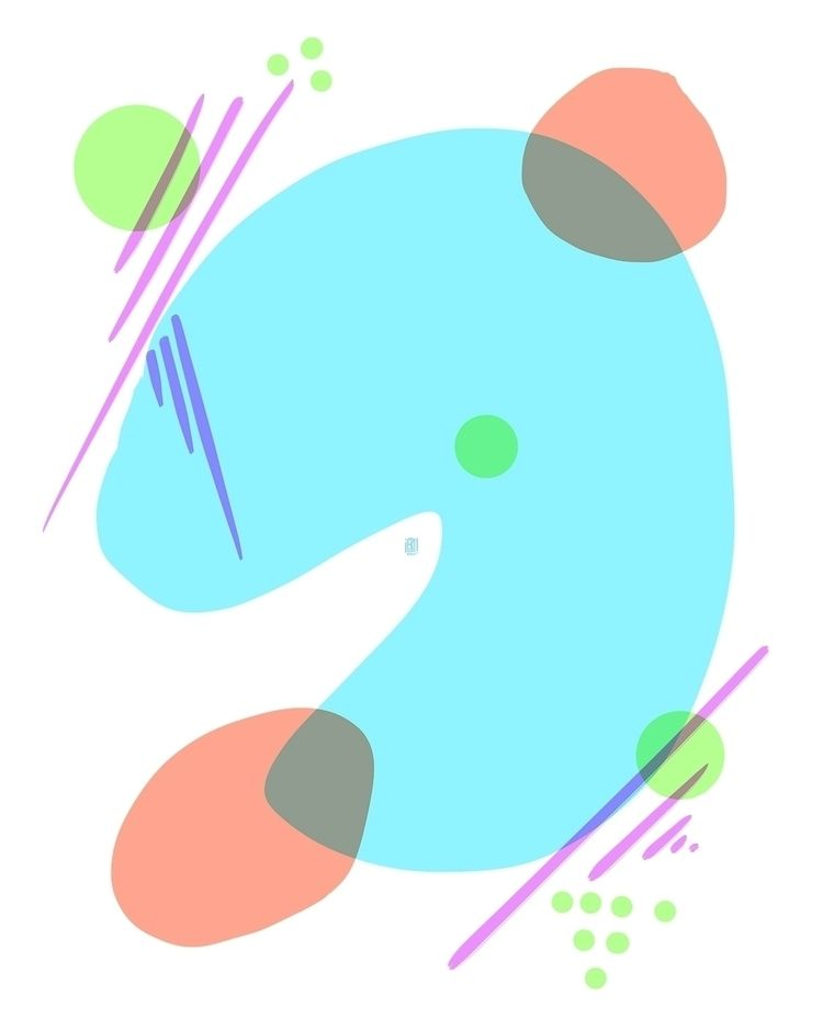 Abstract 5 - elloart, elloabstract - erisado   ello