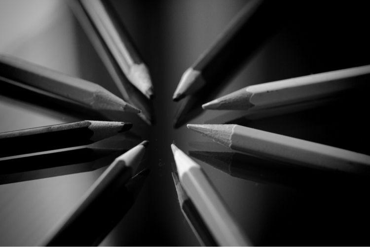 Pencils-Art - pencil, art - taari | ello