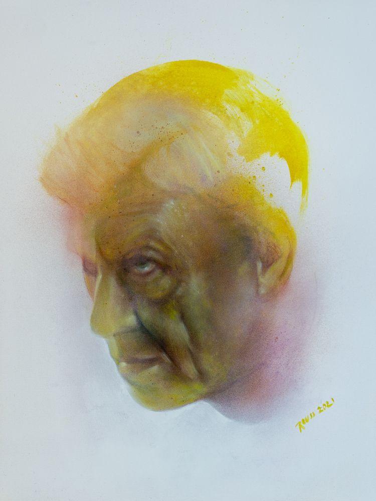 Untitled. 56x42 cm. Oils spray  - reuss | ello