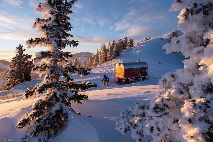 warm place. skiing - backcountry - bradengunem | ello