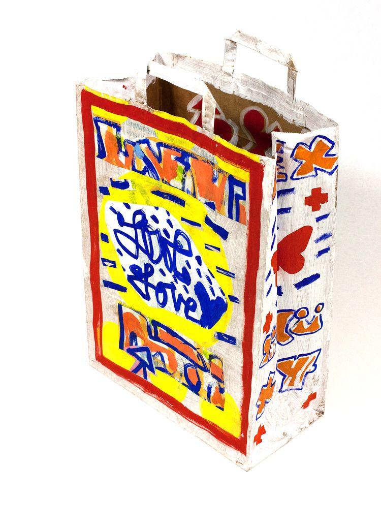 Love bag 2018 - paperbags, ellodesign - boraistudio   ello