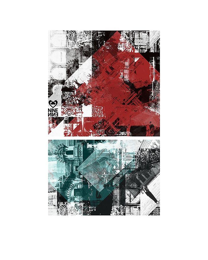 Barcelona 02 - digital, abstract - ninenine99   ello