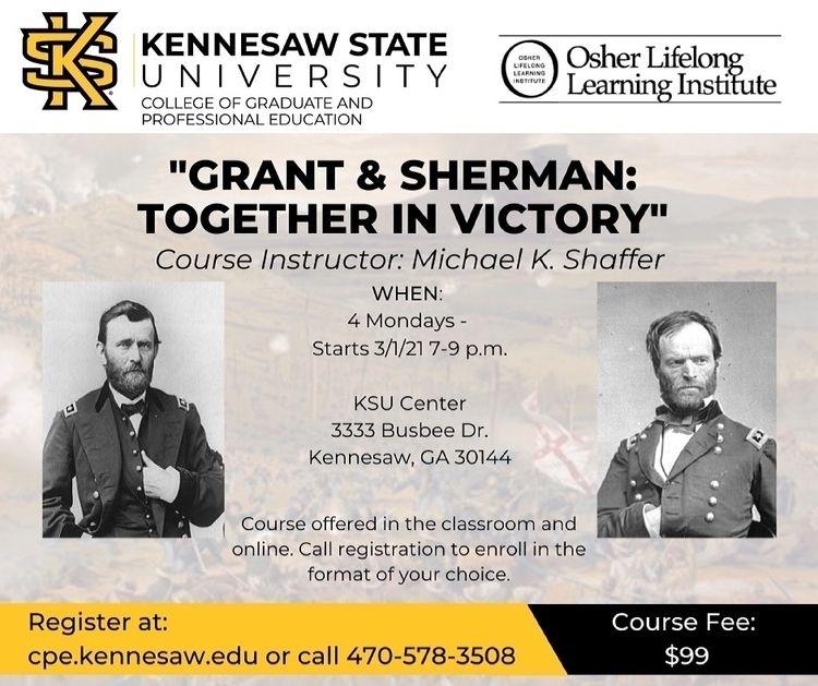 'Grant Sherman' starts Monday,  - mscivilwar | ello