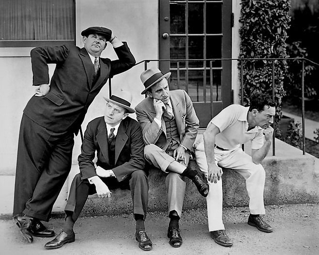 Oliver Hardy, Stan Laurel, Jimm - oldendaze | ello