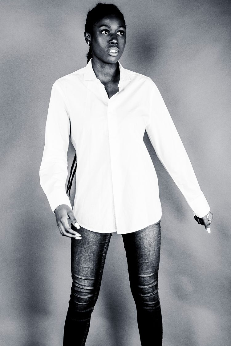 Mado withe - elloportrait, fashion - studiophotophoremtl | ello