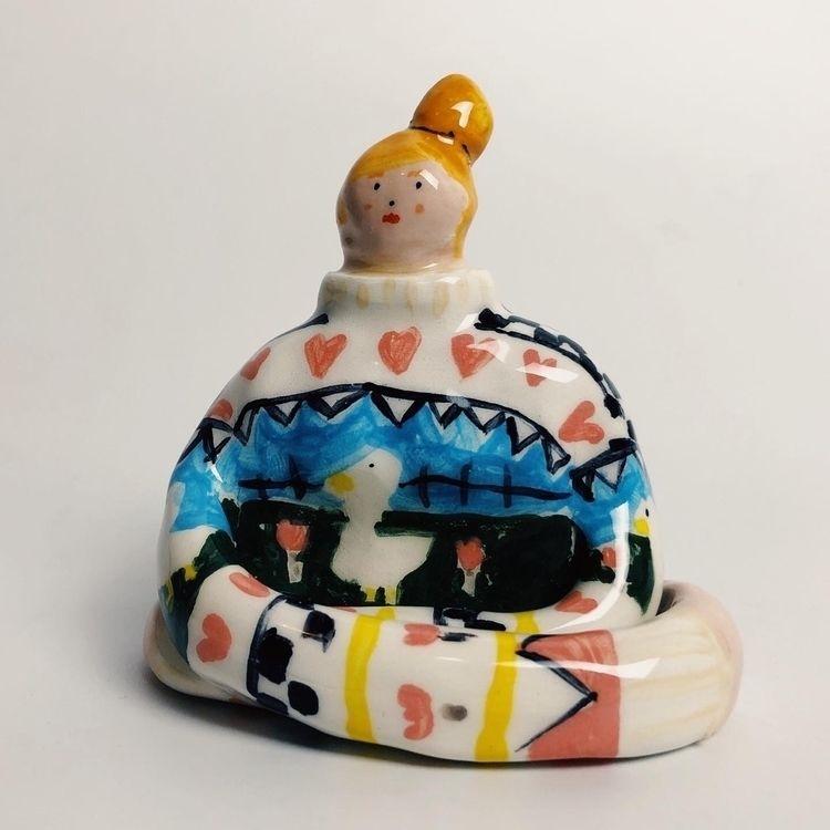 ceramic girls check ig - evigeo   ello