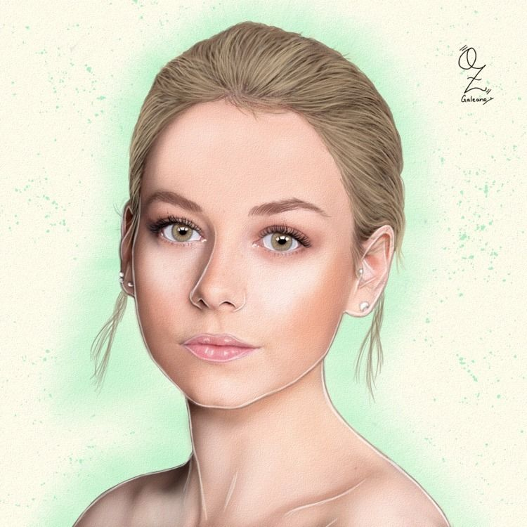 Ester Exposito Portrait drawing - ozgaleano | ello