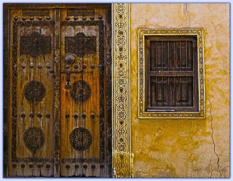 Ancient Door Window - sadiqalqatari | ello