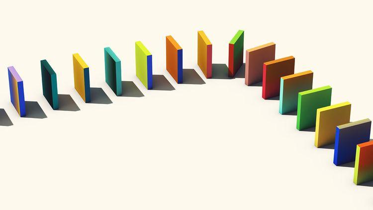 Queue 6 - abstract, digital, 3dillustration. - scottnorrisphotography   ello