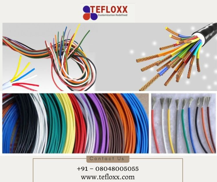 PTFE insulated wires Ghaziabad  - tefloxxwire   ello
