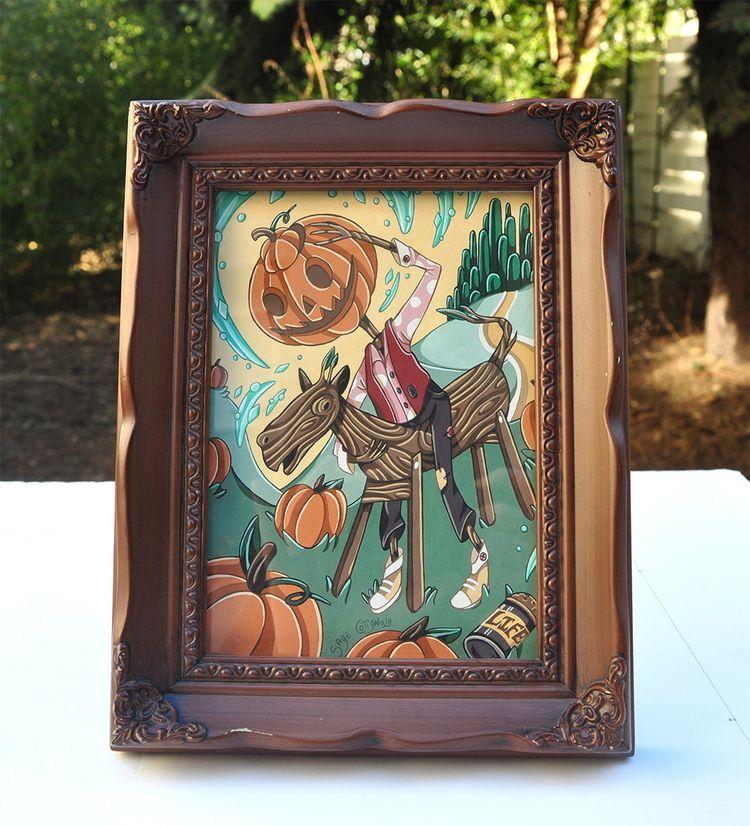 early autumn case painting Jack - sagecotignola | ello