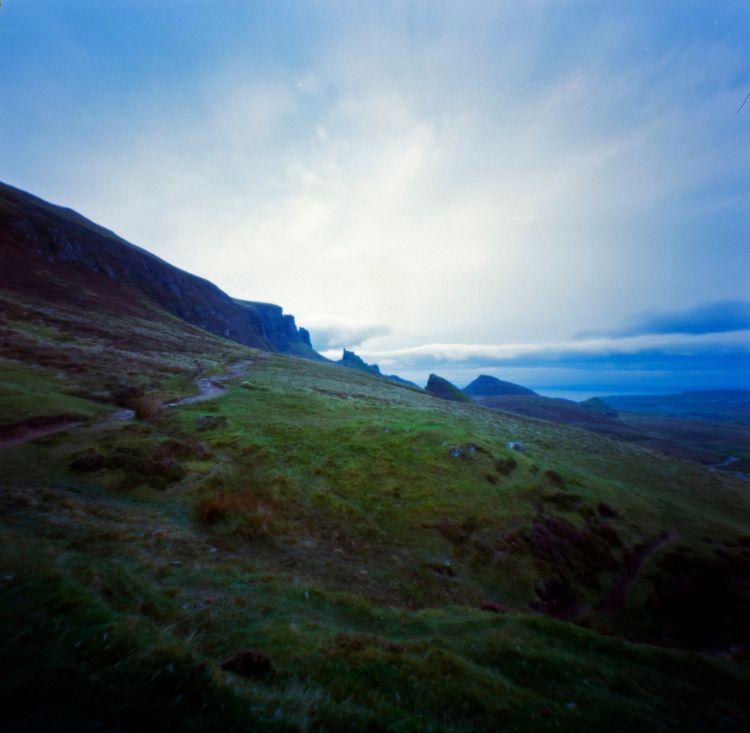 pinhole shot Quiraing Isle Skye - neilhowardphotos | ello