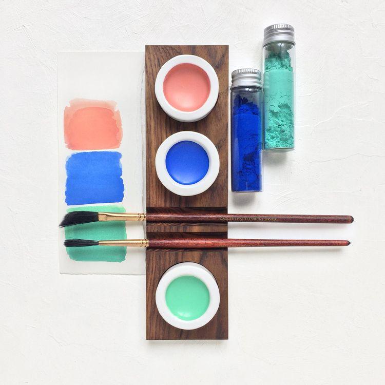 triadic/primary palette, harmon - pritpalbharaj | ello