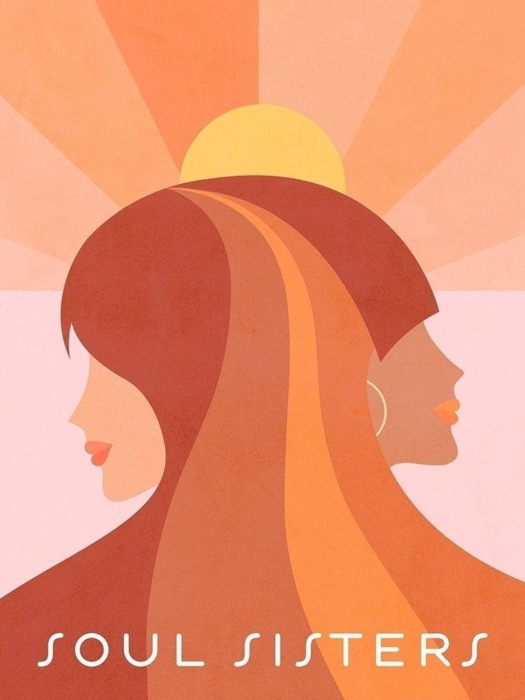 Soul Sisters - Girl power portr - dominiquevari | ello