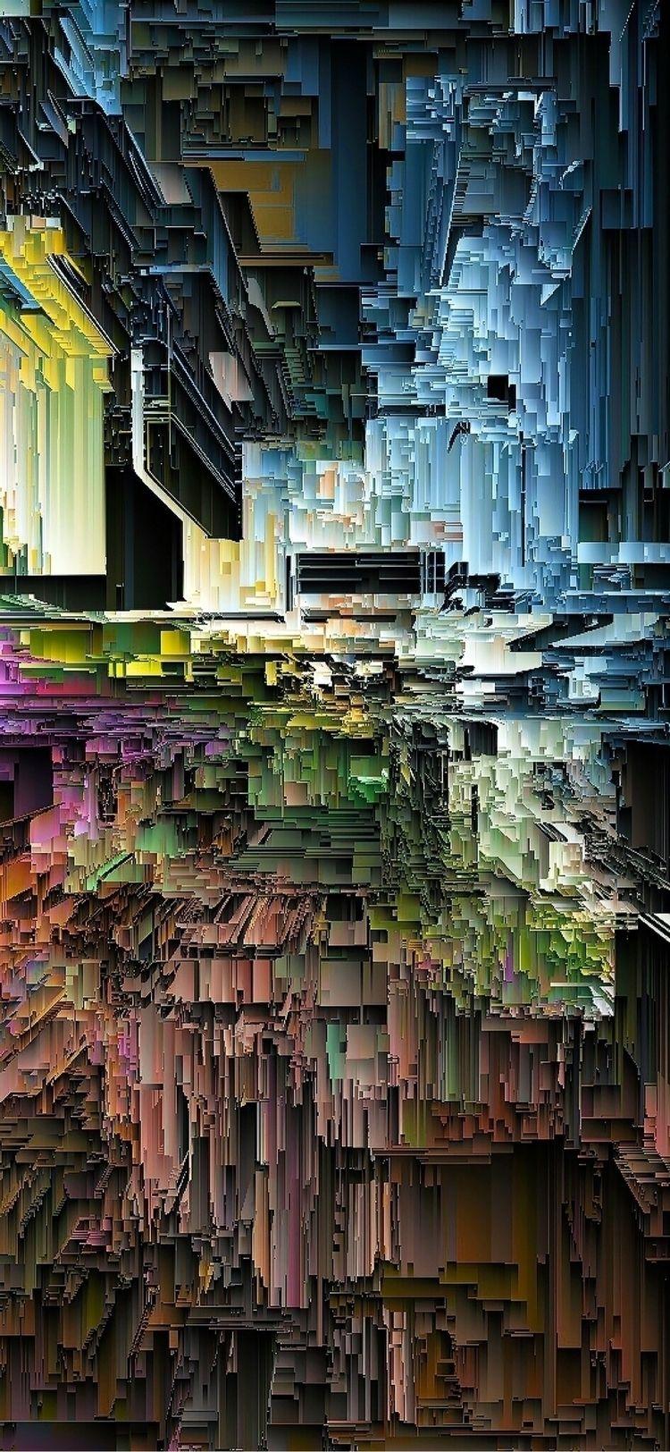 ◱ noisiVision  - noise, vision, pixelart - ikatch | ello