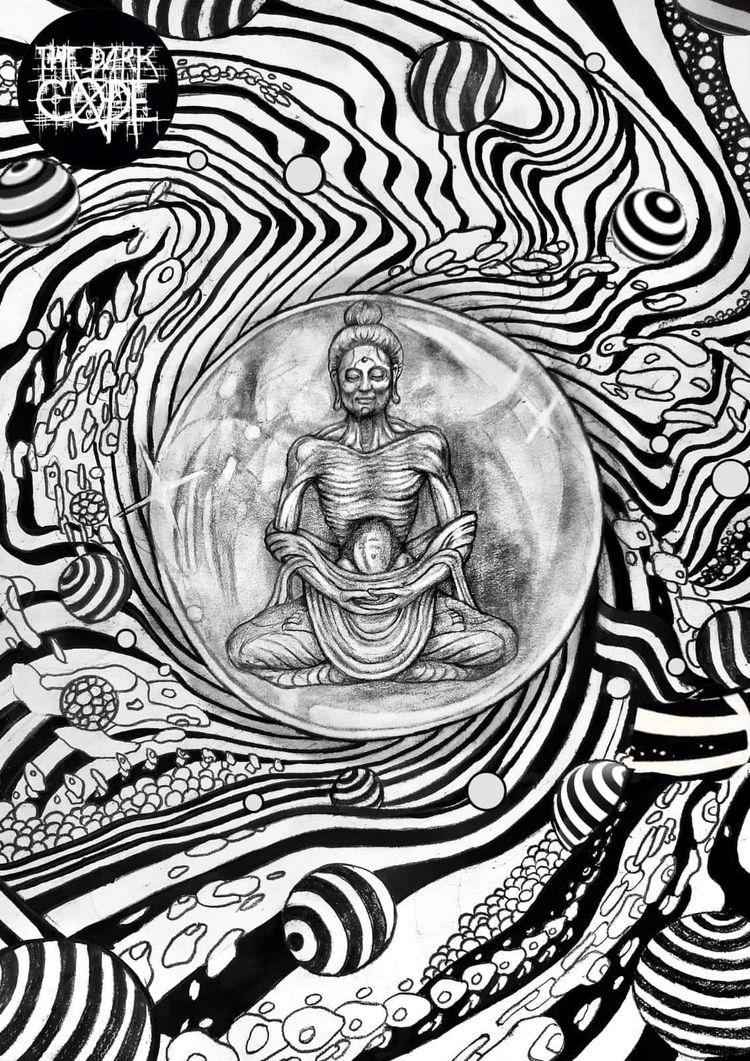 artwork edition psychedelic art - lukegrayart | ello