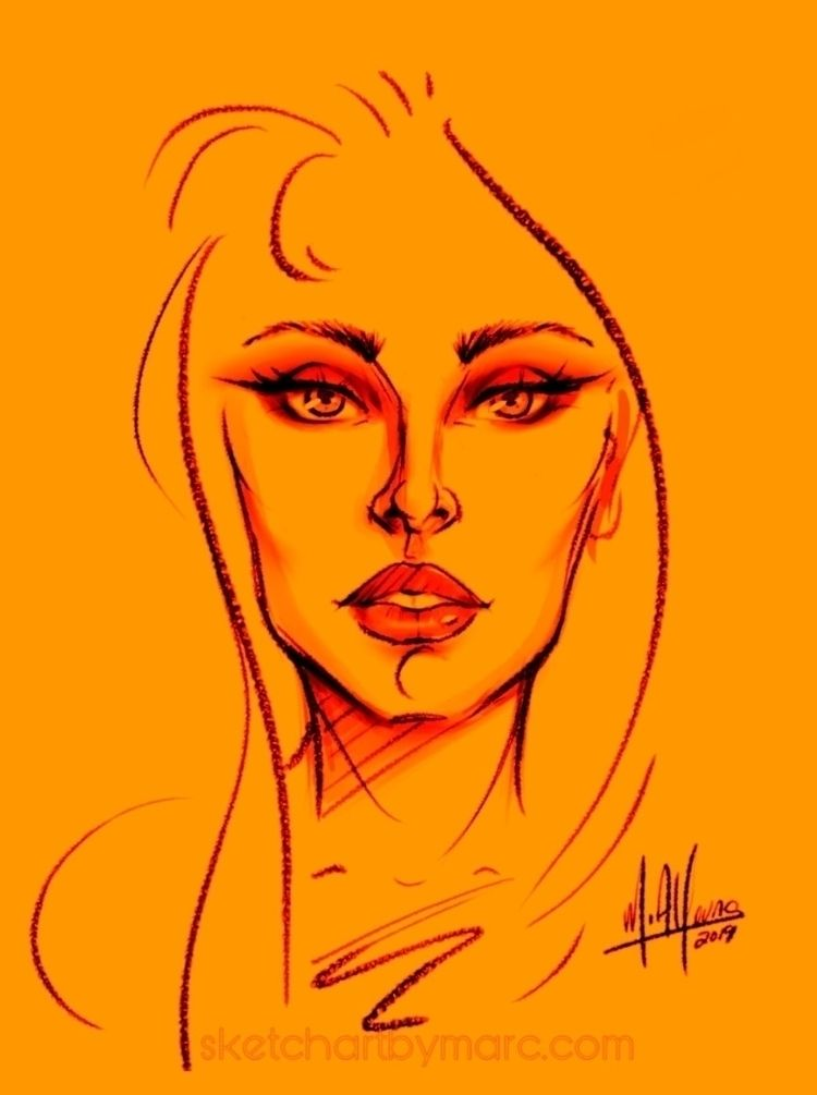 Saturated - sketch, fashion, illustration - sketchartbymarc | ello